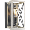 This item: P710012-143: Briarwood Graphite One-Light Wall Sconce
