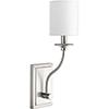 This item: P710018-009: Bonita Brushed Nickel One-Light Wall Sconce