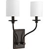 This item: P710019-020: Bonita Antique Bronze Two-Light Wall Sconce