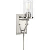 This item: Lassiter Brushed Nickel Five-Inch One-Light ADA Wall Sconce