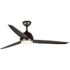 This item: Oriole Bronze 60-Inch LED One-Light Ceiling Fan