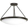 This item: P350066-129-30: Apogee Architectural Bronze Energy Star LED Semi Flush Mount