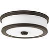 This item: P350085-020-30: Bezel LED Antique Bronze Energy Star LED Flush Mount