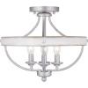 This item: Gulliver Galvanized Four-Light Semi-Flush