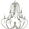 This item: P400088-134: Anjoux Silver Ridge Nine-Light Chandelier