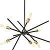 This item: P400108-020: Astra Antique Bronze Six-Light Chandelier