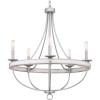 This item: Gulliver Galvanized Five-Light Chandelier