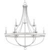 This item: Gulliver Galvanized Nine-Light Chandelier