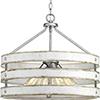 This item: P500023-141: Gulliver Galvanized Four-Light Pendant