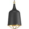 This item: P500098-031: Era Black One-Light Pendant