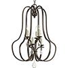 This item: P500100-020: Anjoux Antique Bronze Six-Light Chandelier