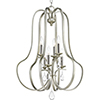 This item: P500100-134: Anjoux Silver Ridge Six-Light Chandelier