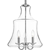 This item: P500114-015: Litchfield Polished Chrome Three-Light Pendant