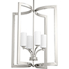 This item: P500124-104: Celeste Polished Nickel Four-Light Pendant