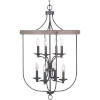 This item: Gulliver Graphite Eight-Light Foyer