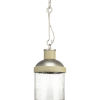 This item: Rockdance Antique Nickel One-Light Mini-Pendant With Transparent Seeded Glass