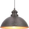 This item: Englewood Antique Bronze One-Light Outdoor Hanging Lantern