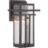 This item: Antique Bronze One-Light Outdoor Wall Lantern