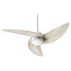 This item: Trinity Satin Nickel LED 52-Inch Ceiling Fan