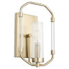 This item: Citadel Aged Brass Eight-Inch One-Light Wall Mount