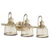 This item: Omni Aged Brass 23-Inch Three-Light Bath Vanity