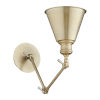 This item: Aged Brass Seven-Inch One-Light Wall Mount