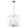 This item: Optic Aged Brass 20-Inch Six-Light Pendant