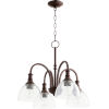 This item: Richmond Oil Bronze and Clear Seeded Four-Light Pendant