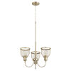 This item: Omni Aged Brass 19-Inch Three-Light Chandelier