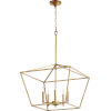 This item: Gabriel Gold Leaf Five-Light Pendant