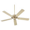 This item: Virtue Aged Brass 52-Inch Ceiling Fan