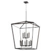 This item: Manor Oiled Bronze 29-Inch 12-Light Entry Pendant