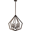 This item: Knox Oiled Bronze Six-Light Pendant