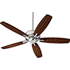 This item: Breeze Satin Nickel Ceiling Fan