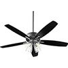 This item: Breeze Black Four-Light LED Ceiling Fan