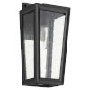 This item: Bravo Noir One-Light 7-Inch Outdoor Wall Mount