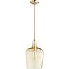This item: Aged Brass Nine-Inch One-Light Mini Pendant