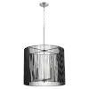This item: Finura Satin Nickel Five-Light Pendant
