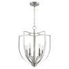 This item: Dakota Satin Nickel Five-Light Pendant