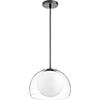 This item: Black 12-Inch One-Light Pendant