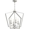 This item: Satin Nickel Four-Light Pendant