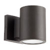 This item: Cylinder Oil Bronze Two-Light LED Outdoor Wall Mount