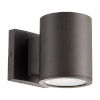 This item: Cylinder Oil Bronze LED Outdoor Wall Mount