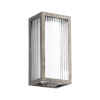 This item: Maestro Weathered Zinc Three-Light LED 6-Inch Outdoor Wall Mount