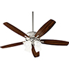 This item: Breeze Satin Nickel LED 52-Inch Ceiling Fan