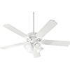 This item: Capri IX Studio White with Satin Opal LED 52-Inch Ceiling Fan