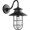 This item: Moriarty Black One-Light 9.5-Inch Outdoor Wall Sconce