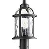 This item: Winston Black Three-Light 8.75-Inch Outdoor Post Mount