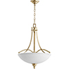 This item: Aspen Aged Silver Leaf with Satin Opal Four-Light 22-Inch Pendant