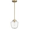 This item: Aged Brass One-Light 9-Inch Mini Pendant